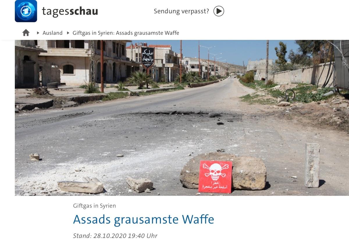 BBC gesteht: Bericht zu Giftgas in Syrien beinhaltete FakeNews